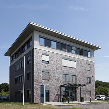 TIS Tower – Firmensitz des Telematikanbieters TIS GmbH in Bocholt