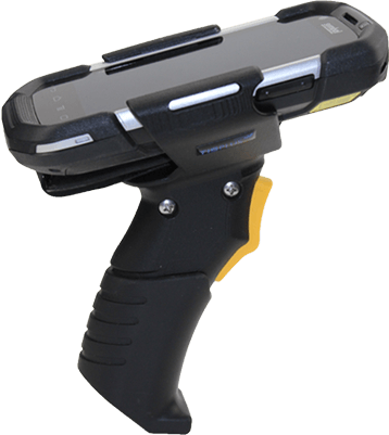 Zebra TC75 Handheld mit TISPLUS Scan Handle